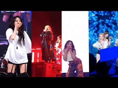 2NE1 - I AM THE BEST (SOLO) FANCAM COMPILATION CL(US) DARA(KOREA) MINZY(BRAZIL) BOM(TAIWAN)