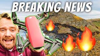 Edinburgh caught fire - LIVE DRONE VLOG