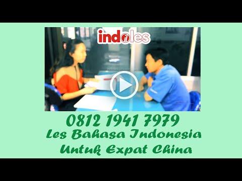Les Bahasa Indonesia untuk expat Cina