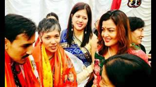 Manushi daughter of politician Baburam Bhattarai gets married