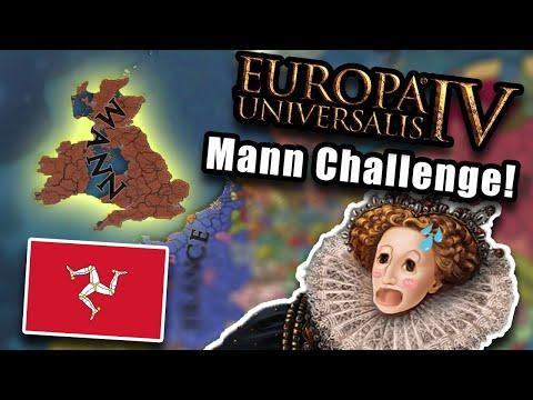 EU4 but i conquer britain as mann... |