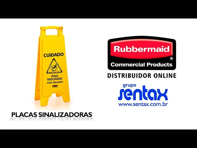 Placas Sinalizadoras - Rubbermaid