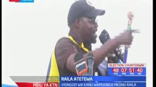 Viongozi wa KANU wamtetea Raila Odinga dhidi ya madai ya Kajiado