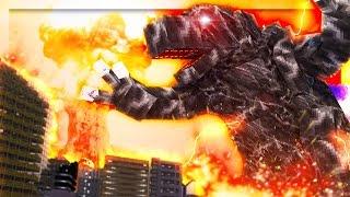 Minecraft Godzilla - NUKING MOBZILLA! (Minecraft Roleplay) #3
