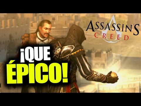 ¡COMIENZO ÉPICO EN ASSASSIN'S CREED BROTHERHOOD! - RAFITI
