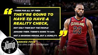 Video Analyzing Channing Frye's comments about LeBron James | The Jump | ESPN download MP3, 3GP, MP4, WEBM, AVI, FLV Oktober 2018