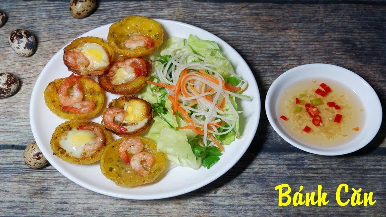 [ Art Cooking ] Cách làm Bánh Căn Đà Nẵng  – How to cook Can – Vietnamese Cake .