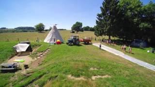 Buikglijden op Camping de la Semois 2016