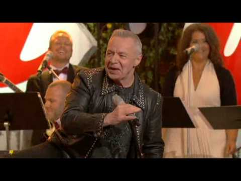 "Jerry Williams med ""I Can Jive"" - Allsång på Skansen aug. 2012"