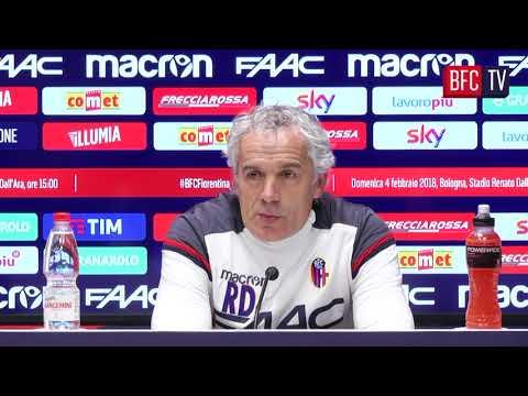 #BFCFiorentina: la conferenza pre-partita di Donadoni