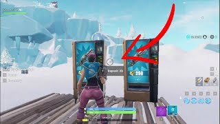 How To GET VENDING MACHINES In YOUR OWN ISLAND In Fortnite CREATIVE MODE (After Patch)