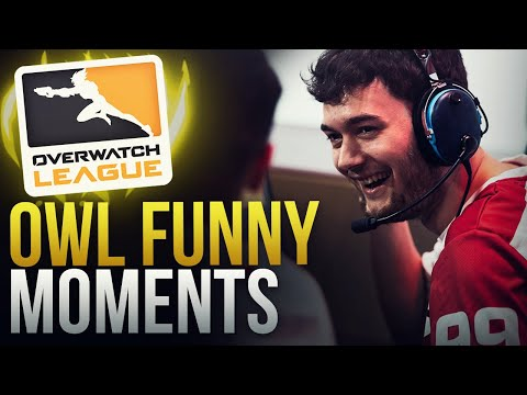 BEST FUNNY MOMENTS - OVERWATCH LEAGUE S2