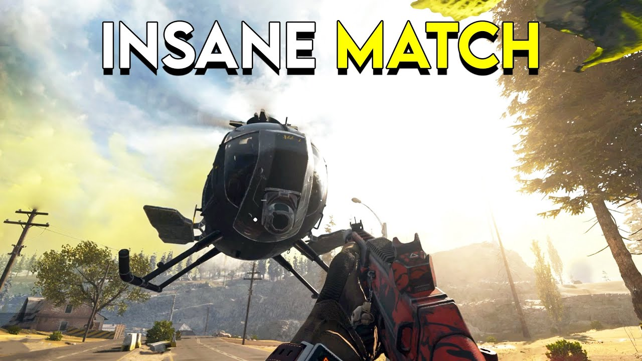 Our Most Insane Warzone Match