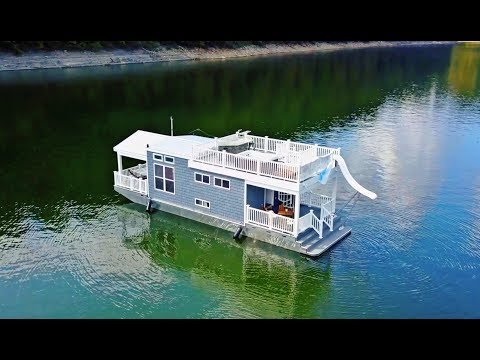 The Ultimate Floating Tiny House