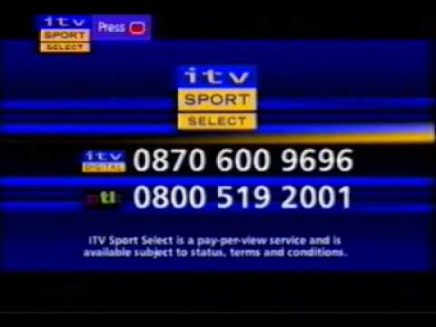 ITV Sport Select Promo