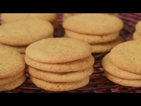 Vanilla Wafers Recipe Demonstration - Joyofbaking.com
