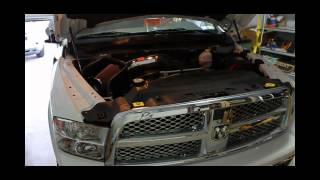 2012 ram 1500 hemi k air intake before and after sound