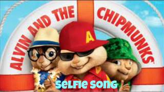 Repeat youtube video Selfie Song (chipmunks version) Davey Langit