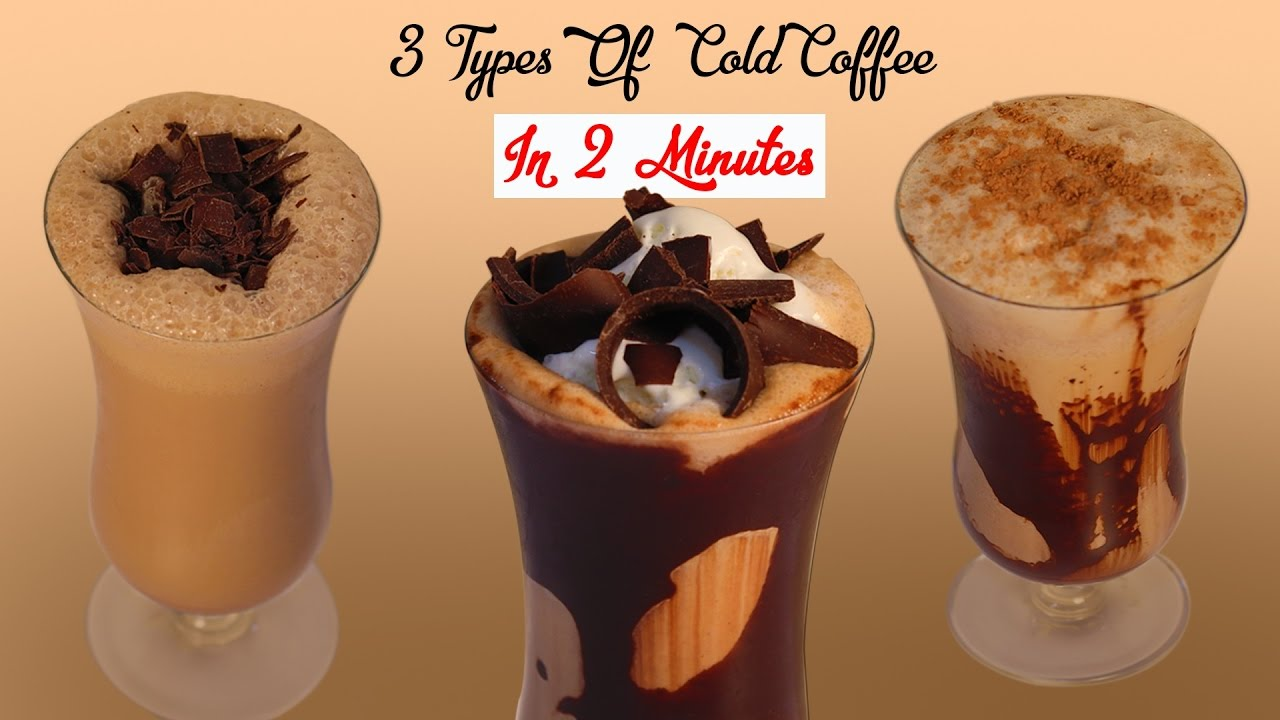 How to make cold coffee easy recipe