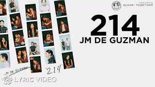 "Gambar cover JM De Guzman - 214 | From ""Alone/Together"" (Lyrics)"