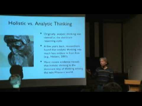 Joe Henrich - Thematic Series: The Emerging Science of Culture The Weirdest People in the World