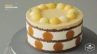 망고 치즈케이크 만들기 : Mango Cheesecak…