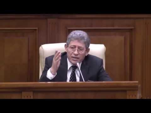 Mihai Ghimpu - Declarație în plenul Parlamentului Republicii Moldova