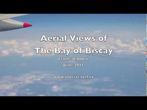 Aerial Views of The Bay of Biscay - June 2011