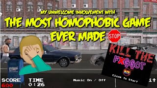 The Most Homophobic Game Ever Made (and my unwelcome involvement with it)