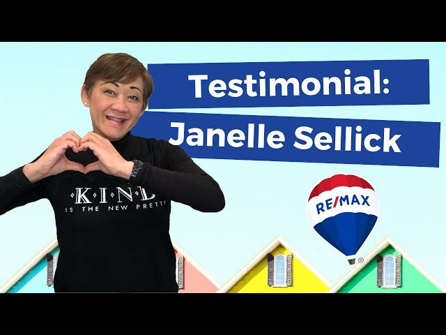 Thank you Janelle Sellick for your kind words.