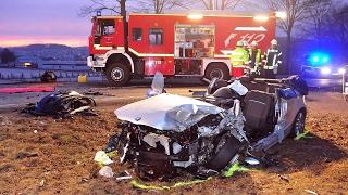 Brilon: 20-Jähriger bei Unfall lebensgefährlich verletzt