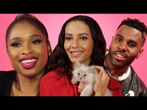 "The Cast of ""Cats"" Play With Kittens While Answering Fan Questions"