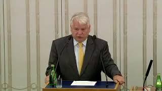 Bogdan Borusewicz - wystąpienie z 24 lipca 2018 r.