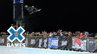 Ayumu Hirano wins Men's Snowboard SuperPipe gold | X Games Aspen 2018 平野歩夢 検索動画 12