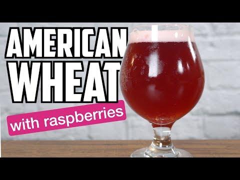 American Wheat Beer With Raspberries - How To Brew Beer