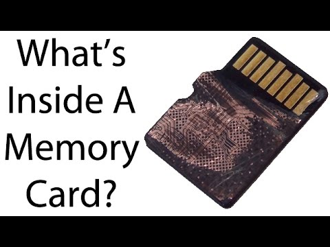 What Is Inside SD and Micro SD Memory Cards? Find Out!