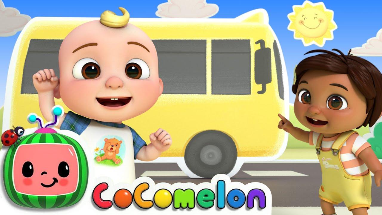 Wheels On The Bus Dance | CoComelon Nursery Rhymes & Kids Songs
