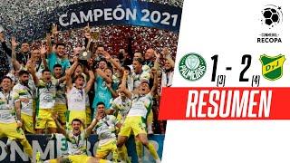 ¡EL HALCÓN HIZO HISTORIA Y ES CAMPEÓN! | Palmeiras 1(3)-(4)2 Defensa y Justicia | RESUMEN
