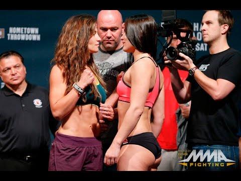UFC on FOX 16 Weigh-Ins: Miesha Tate vs. Jessica Eye