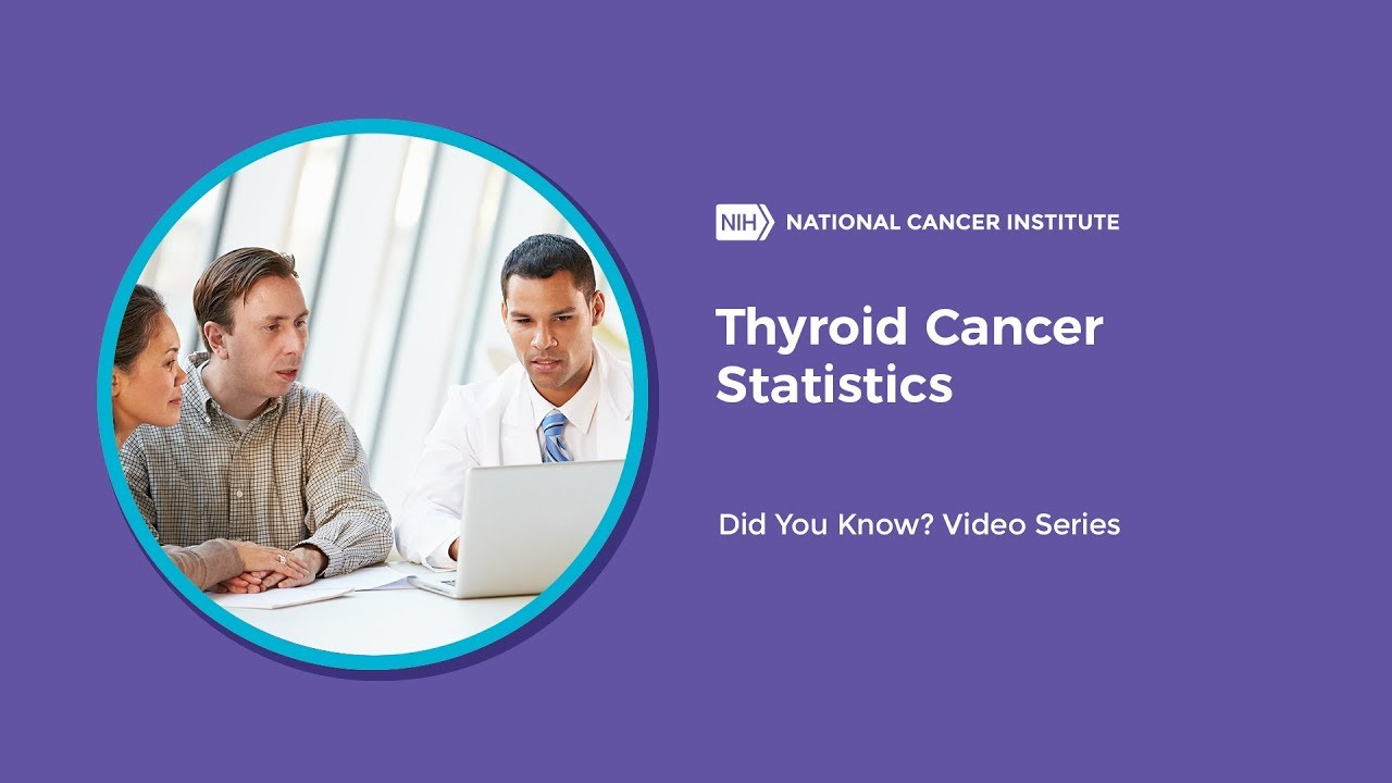 Thyroid Cancer Statistics Did You Know Youtube