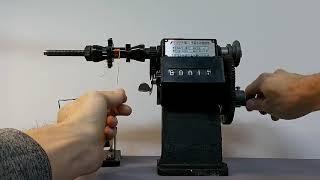수동 권선기 사용법 (트랜스 감기/변압기 감는법)