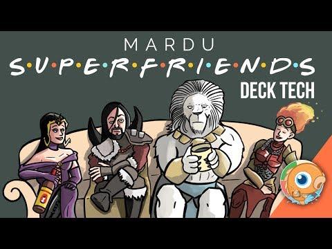 Instant Deck Tech: Mardu Superfriends (Modern)