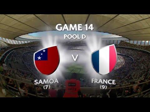 Samoa vs France Capetown 7s 2015/16