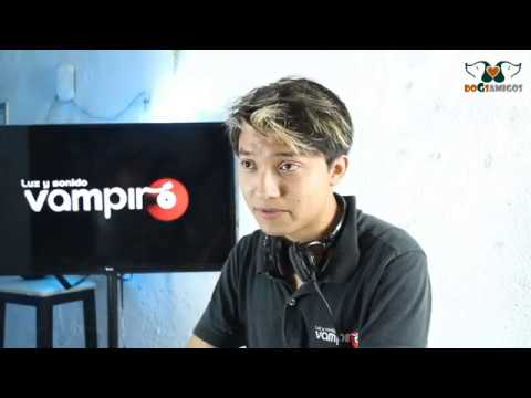 Video Luz Y Sonido Vampiro   DOGSAMIGOS ENTREVISTA 2015