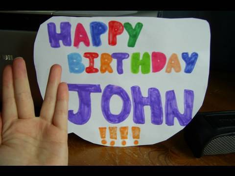 HAPPY JOHN DAY!!!