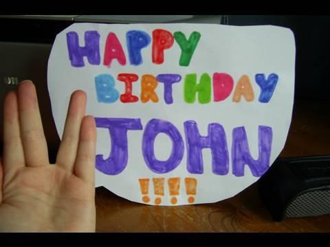 HAPPY JOHN DAY!!!