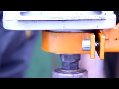 Как из миксера сделать дрель,а из дрели сверлильный станок