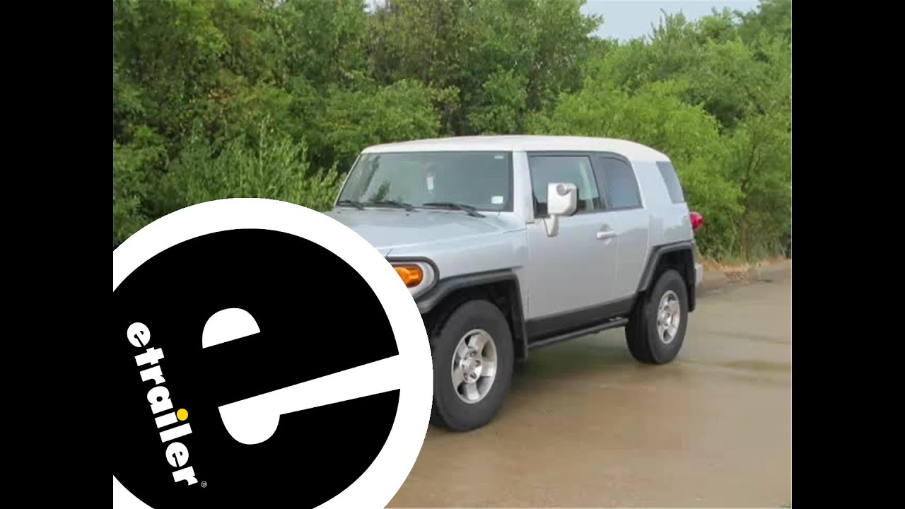 installation of a trailer hitch on a 2008 toyota fj cruiser installation of a trailer hitch on a 2008 toyota fj cruiser etrailer com