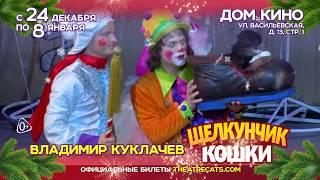 """Новогодний спектакль """"Щелкунчик и кошки"""" !"""
