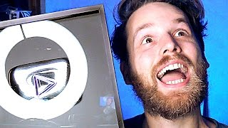 I RUINED MY SILVER PLAY BUTTON - YouTube 100k Subscriber Award Unboxing